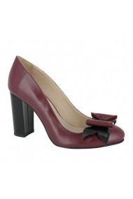 Pantofi cu toc Luisa Fiore Rosa LFD-ROSA-01 rosu