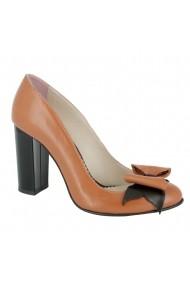 Pantofi cu toc Luisa Fiore Rosa LFD-ROSA-02 maro