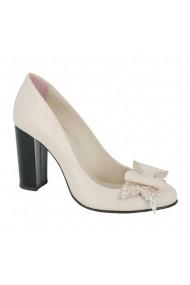 Pantofi cu toc Luisa Fiore Rosa LFD-ROSA-03 bej