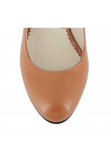 Pantofi cu toc Luisa Fiore Sonagli LFD-SONAGLI-02 maro