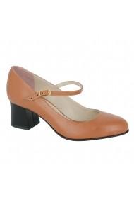 Pantofi cu toc Luisa Fiore Sonagli LFD-SONAGLI-02 Nude