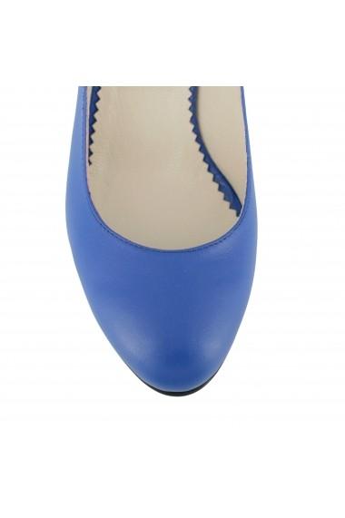Pantofi cu toc Luisa Fiore Sonagli LFD-SONAGLI-03 albastru