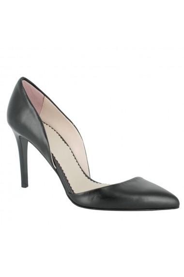 Pantofi cu toc Luisa Fiore Tulipano LFD-TULIPANO-01 negru