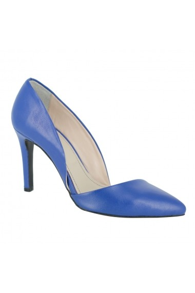 Pantofi cu toc Luisa Fiore Tulipano LFD-TULIPANO-02 albastru