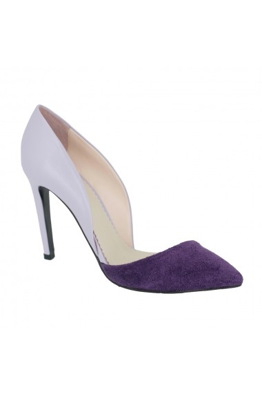 Pantofi cu toc Luisa Fiore Tulipano LFD-TULIPANO-03 violet