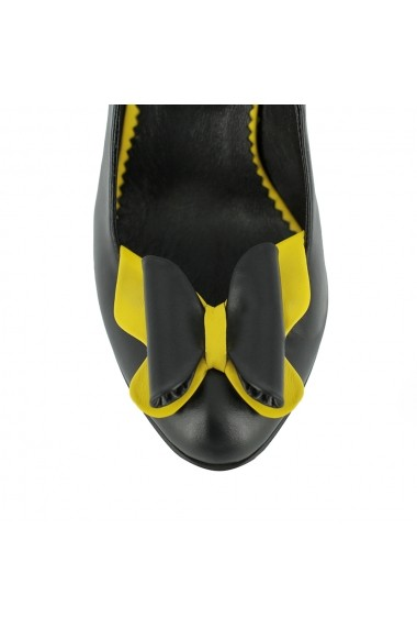 Pantofi cu toc Luisa Fiore Viola LFD-VIOLA-01 negru