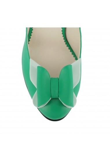 Pantofi cu toc Luisa Fiore Viola LFD-VIOLA-02 verde