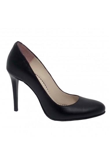 Pantofi cu toc Luisa Fiore negru
