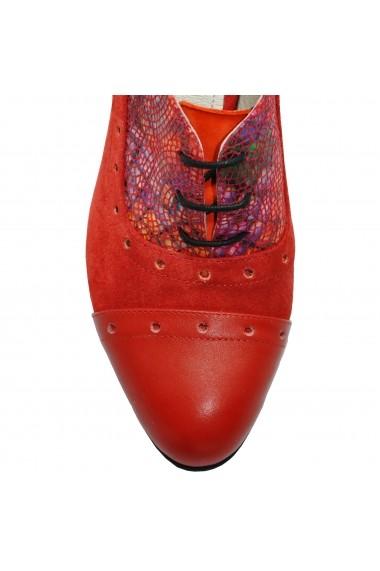 Pantofi cu toc LFD-ANEMONE-02 rosu