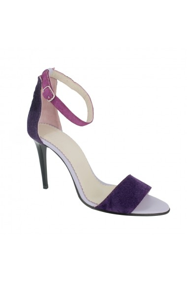 Sandale cu toc Luisa Fiore Bucaneve LFD-Bucaneve-01 lila