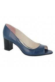 Sandale cu toc Luisa Fiore Carex LFD-CAREX-01 albastru