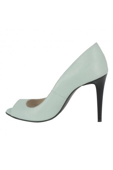 Sandale cu toc Luisa Fiore Fortuna LFD-FORTUNA-01 verde