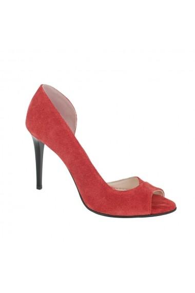 Sandale cu toc Luisa Fiore Iris LFD-IRIS-01 rosu