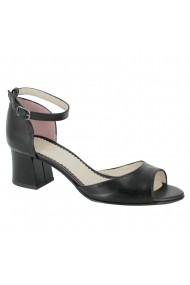 Sandale cu toc Luisa Fiore Lavanda LFD-LAVANDA-01 negru