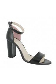 Sandale cu toc Luisa Fiore Marino LFD-MARINO-01 negru