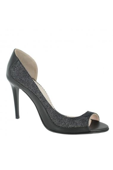 Sandale cu toc Luisa Fiore Nerium LFD-NERIUM-01 negru