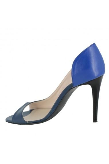 Sandale cu toc Luisa Fiore Nerium LFD-NERIUM-03 albastru