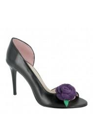Sandale cu toc Luisa Fiore Petunia LFD-PETUNIA-01 negru