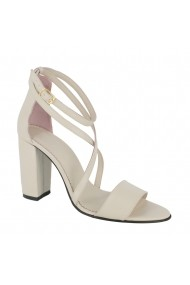 Sandale cu toc Luisa Fiore Sorriso LFD-SORRISO-01 bej