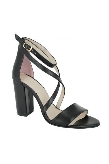 Sandale cu toc Luisa Fiore Sorriso LFD-SORRISO-02 negru