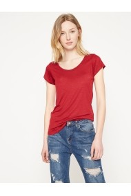 Тениска KOTON 7YAK12298YK-WINE бордо