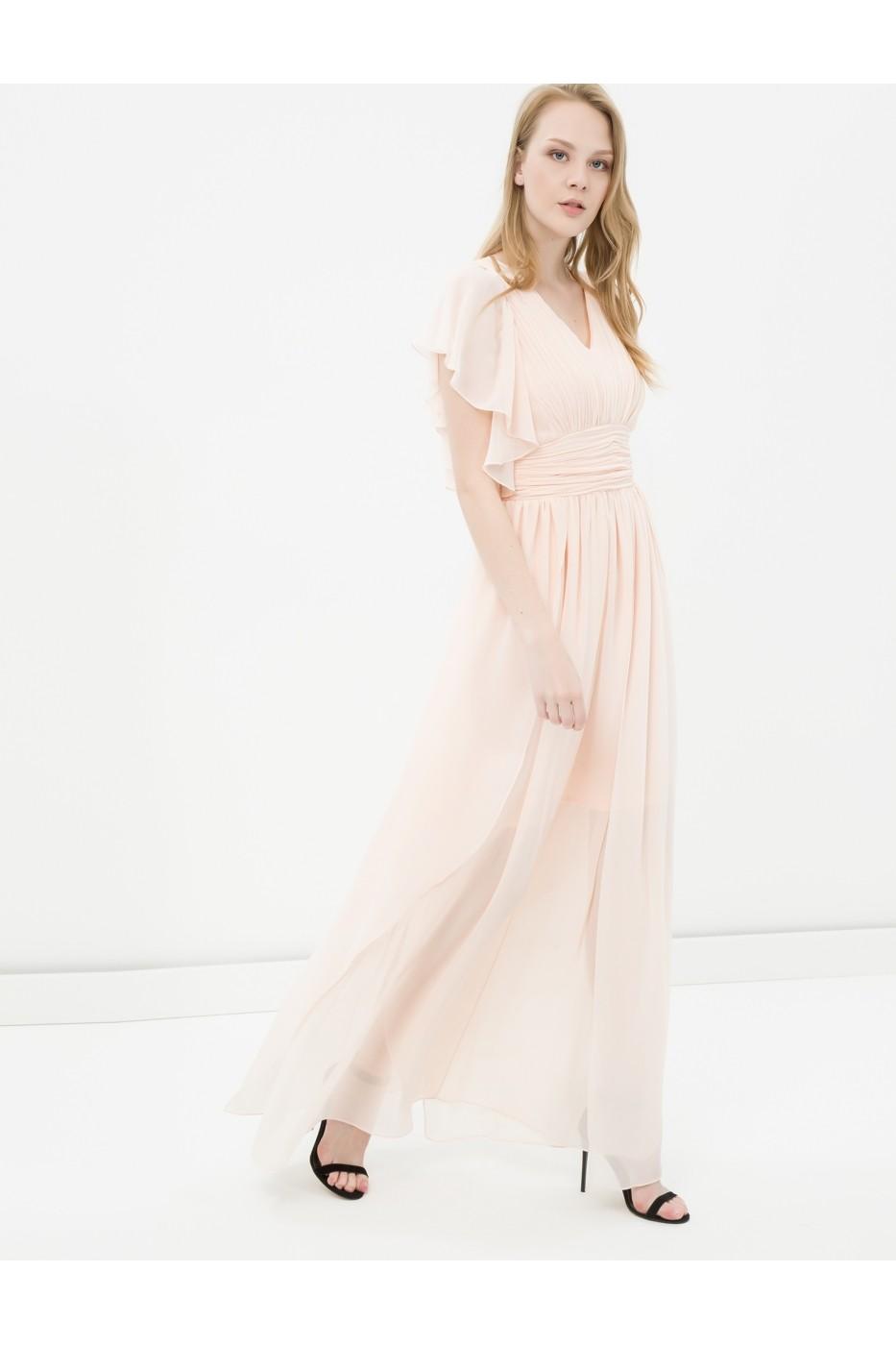 Rochie De Seara Koton 6yak84522fw Roz Fashionup