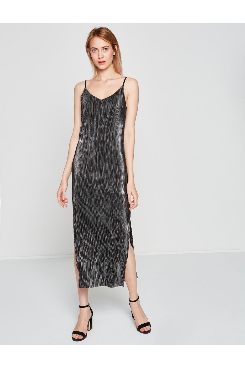 Rochie De Seara Koton 7yak84145fk Negru Fashionup