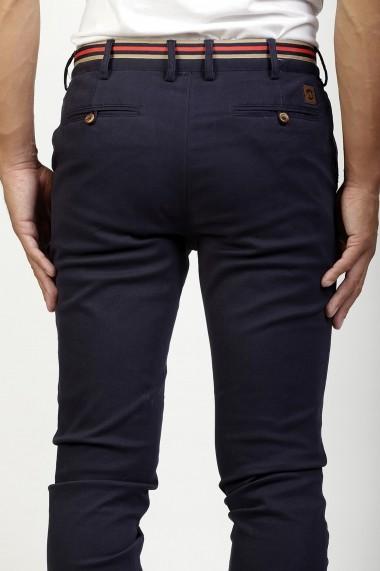Pantaloni Time of Bocha HI1PPOLO Bleumarin