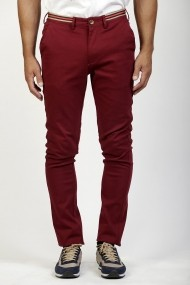 Pantaloni Time of Bocha HI1PPOLO Bordo