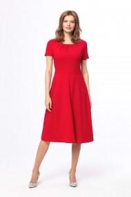 Ежедневна рокля със средна дължина KABELLE KB26-RED чер&#