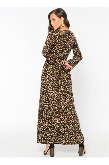 Rochie Bambina Mia KR2349-LEOPAR Animal print