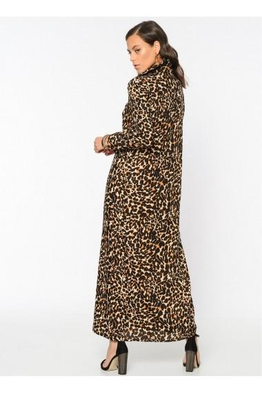 Rochie Bambina Mia KR2350-LEOPAR Animal print