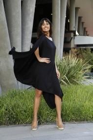 Rochie Bambina Mia KR2669-SIYAH Negru