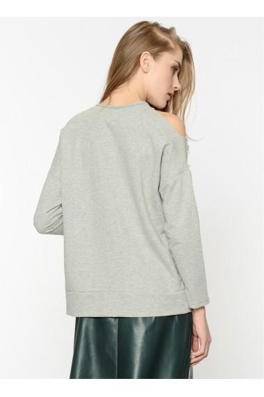 Bluza Bambina Mia KR2260-GRI Gri