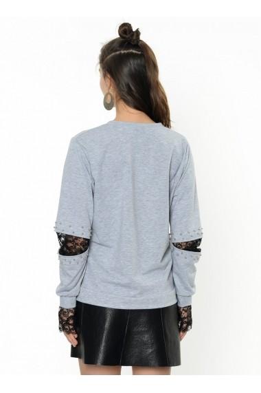 Bluza Bambina Mia KR2315-GRI Negru