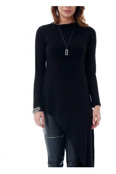 Bluza Bambina Mia KR1368-SIYAH Negru