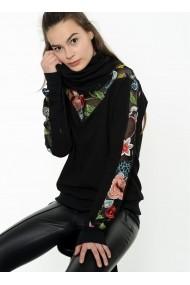 Bluza Bambina Mia KR2275-SIYAH 1 Floral - els