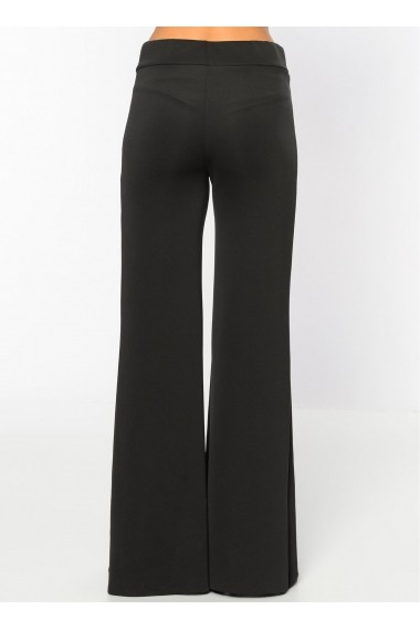 Pantaloni largi Bambina Mia KR2371-SIYAH Negru