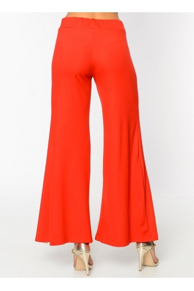 Pantaloni largi Bambina Mia KR2385-KIRMIZI Rosu