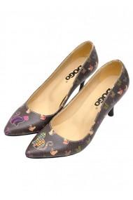 Pantofi cu toc DOGO dghh016-stl005 multicolor - els