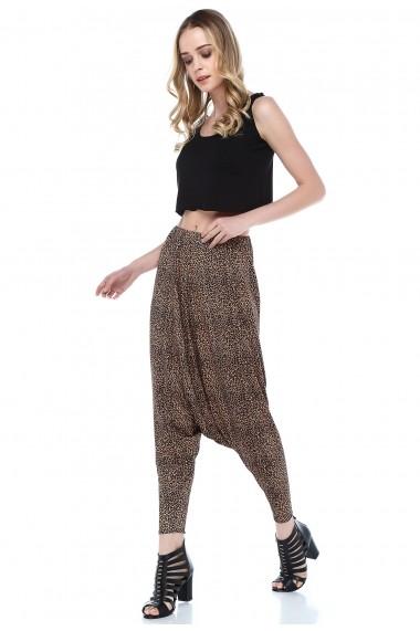 Pantaloni largi Quincey DPM4014 Print
