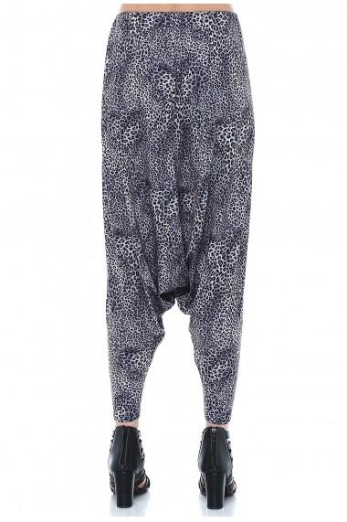 Pantaloni largi Quincey DPM4015 Print