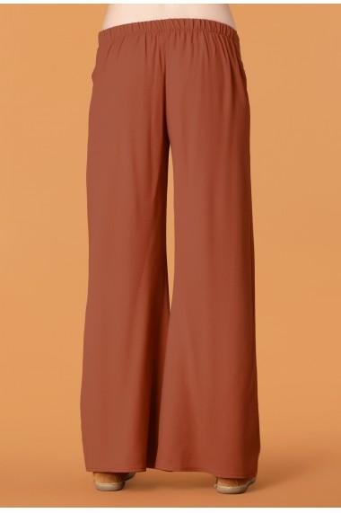 Pantaloni largi Quincey DP2105 Maro