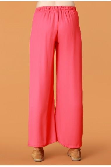 Pantaloni largi Quincey DP2107 Fucsia