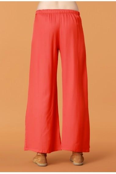 Pantaloni largi Quincey DP2108 Portocaliu