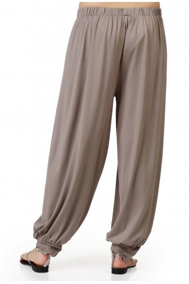 Pantaloni largi Quincey DP2006 Bej