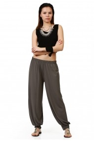 Pantaloni largi Quincey DP2003 Gri