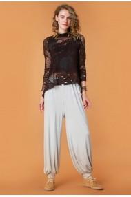Pantaloni largi Quincey DP2114 Gri