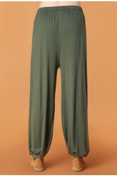 Pantaloni largi Quincey DP2111 Verde