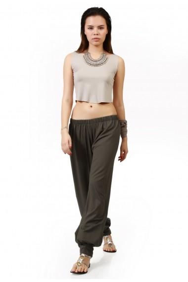Pantaloni largi Quincey DP2002 Verde
